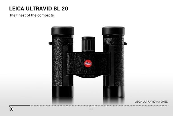 Купить -  LEICA ULTRAVID   8x20 BL  black