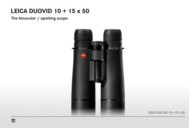 Купить -  LEICA DUOVID 10+15x50 black