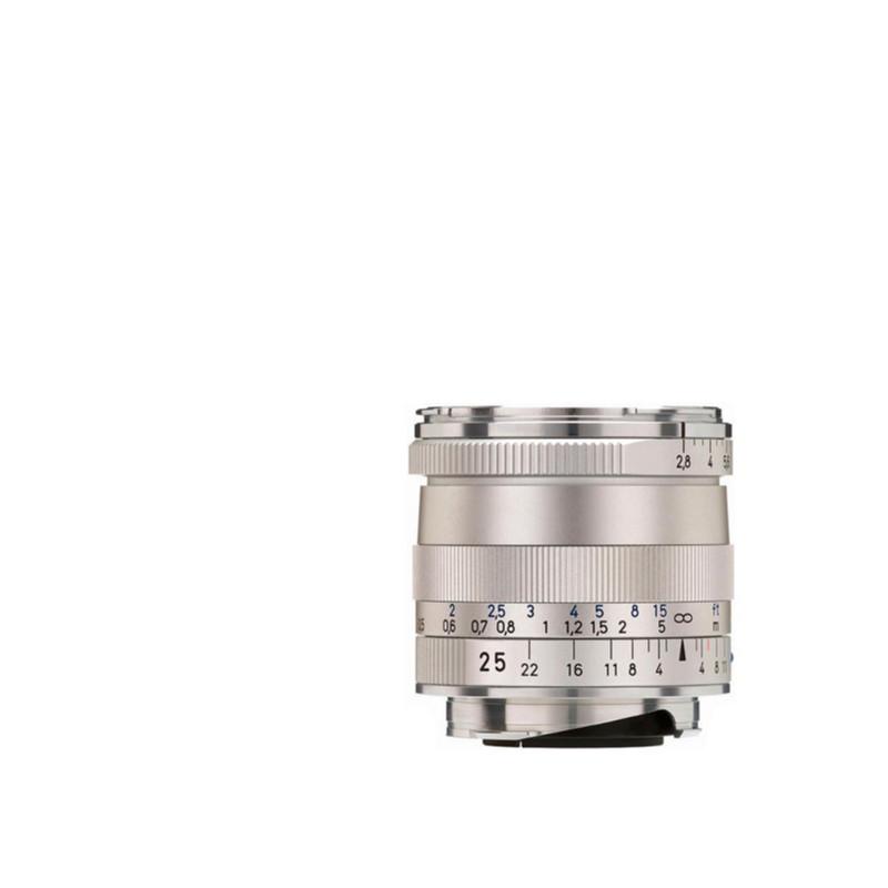 Купить - ZEISS  ZEISS Biogon T* 2,8/25 ZM Silver (1365-652)