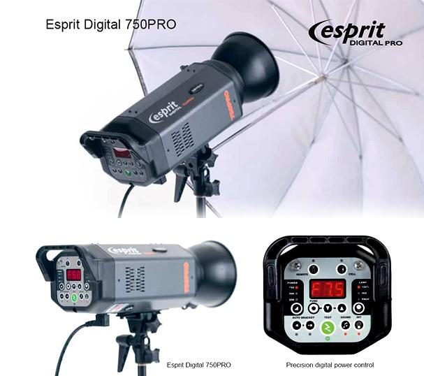Купить -  Студийная вспышка моноблок BOWENS ESPRIT DIGITAL 750 PRO (BW-7500)