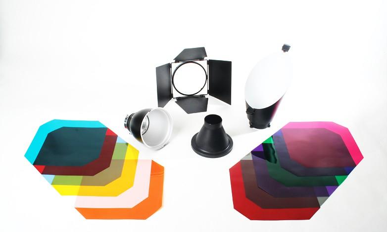 Купить - Bowens Комплект рефлекторов BOWENS BASIC EFFECTS LIGHTING REFLECTOR KIT (BW-6650)