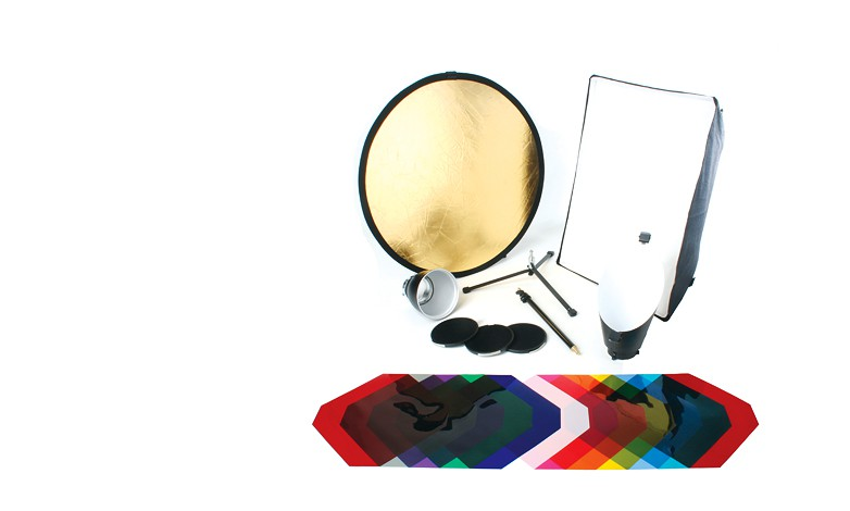Купить - Bowens Комплект рефлекторов BOWENS PORTRAIT LIGHTING REFLECTOR KIT (BW-6655)