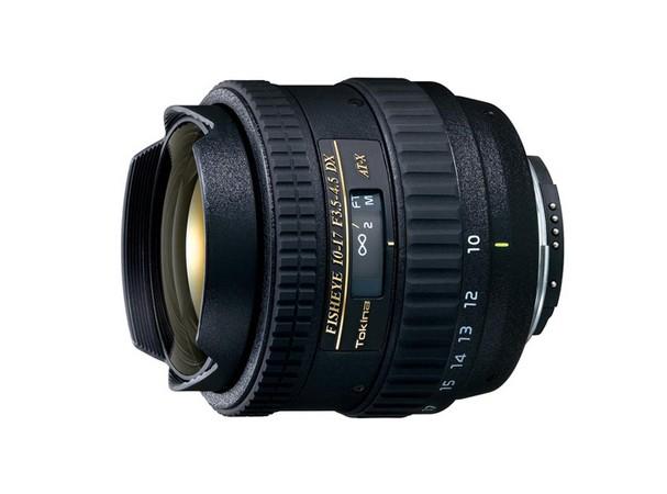 Купить -  Объектив Tokina AT-X DX 10-17mm f/3.5-4.5 FISHEYE (Canon)