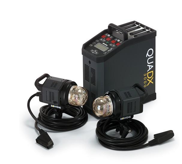 Купить - Bowens Генератор BOWENS QUADX STUDIO SET  3000 комплект с 2-мя генераторными головами (BW-7710)
