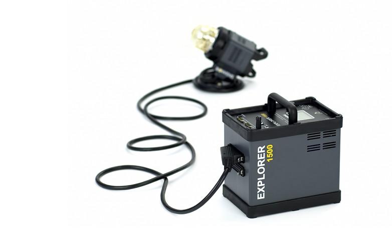 Купить -  Аккумуляторный генератор BOWENS EXPLORER 1500 комплект с 2-мя генераторными головами (BW-7731)