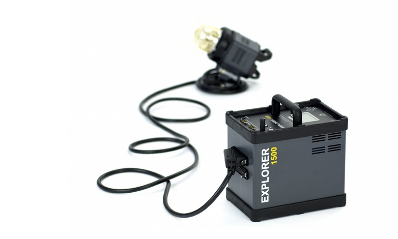 Купить -  Аккумуляторный генератор BOWENS EXPLORER 1500 комплект с 1-й генераторной головой (BW-7730)