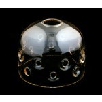 Фото -  Защитный стеклянный колпак (пайрекс) BOWENS U/V COATED DOME FOR QUADX HEAD (BW-2981)