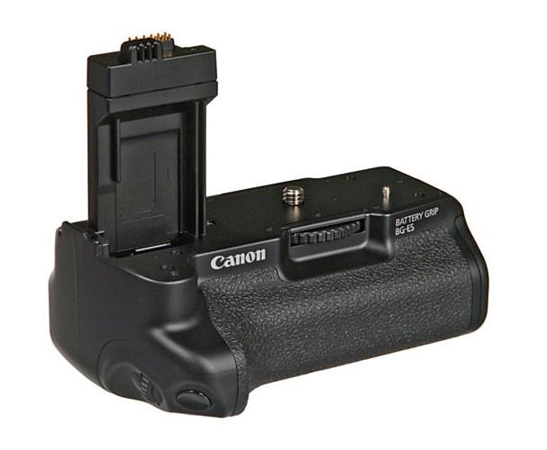 Купить -  Ручка-держатель аккумуляторов Canon BG-E5 EOS, cнабжена кнопками