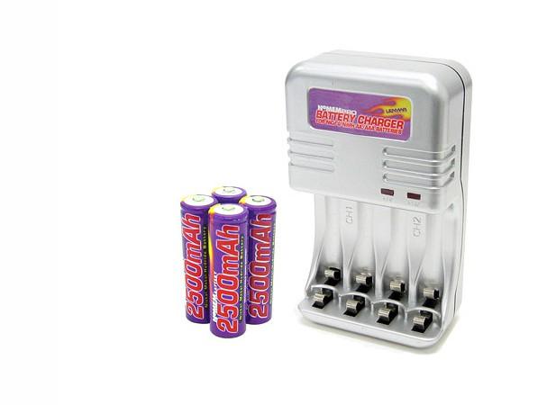 Купить -  Зарядное устройство Lenmar PRO290 (6-8ч) сompact+ 4 AA 2500mAh NiMH
