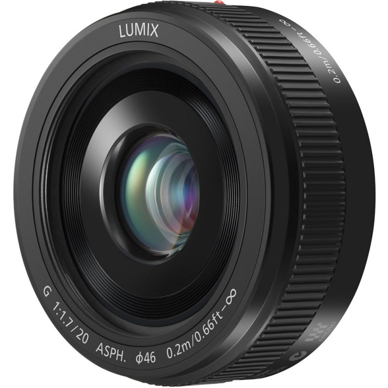 Купить - Panasonic Panasonic 20mm f/1.7 II ASPH. Lumix G (H-H020AE-K)