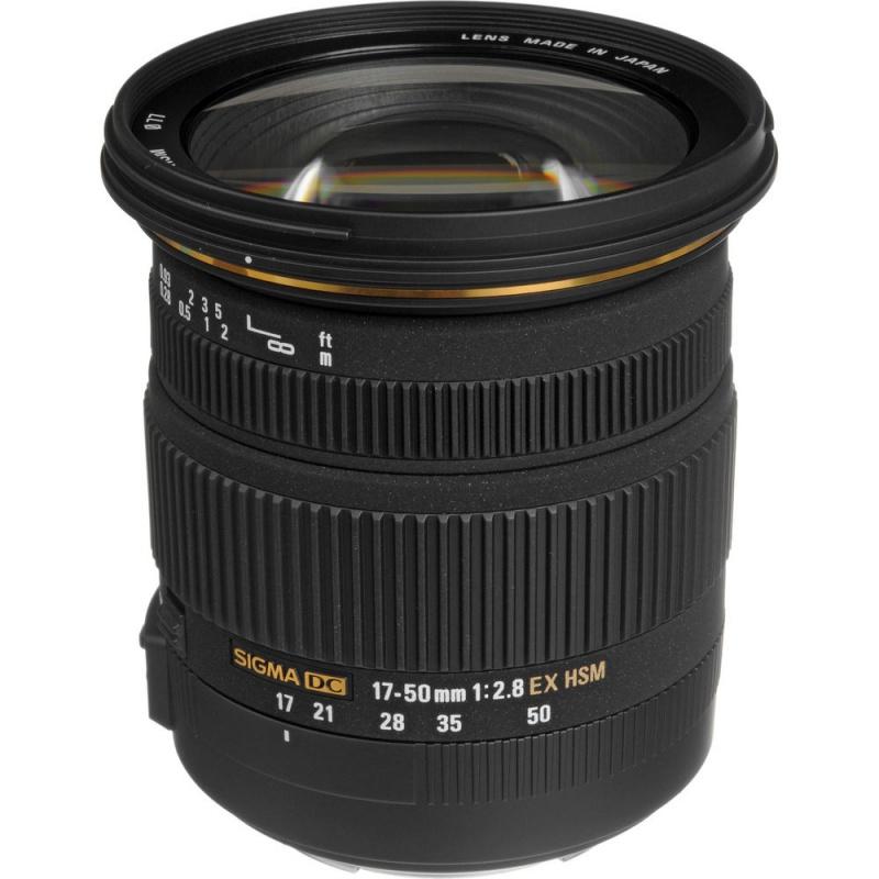 Купить - Sigma Sigma 17-50mm f/2.8 EX DC OS HSM (для Canon)