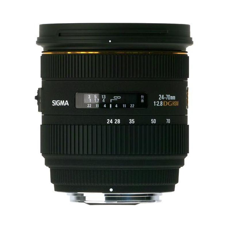 Купить - Sigma SIGMA 24-70/2.8 EX DG HSM IF Canon