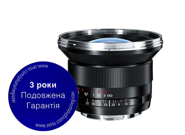 Купить -  Carl Zeiss Distagon T* 3,5/18 ZE - объектив с байонетом Canon + светофильтр Carl Zeiss T* UV Filter 82 mm в подарок!!!