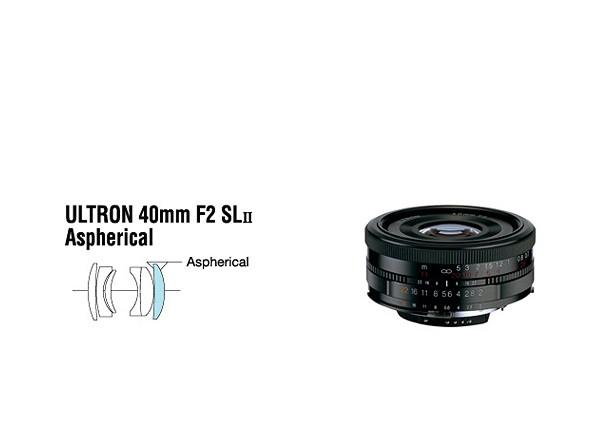 Купить -  Voigtlander Ultron 40 mm F2,0 SL II asph. Canon - объектив с байонетом Canon