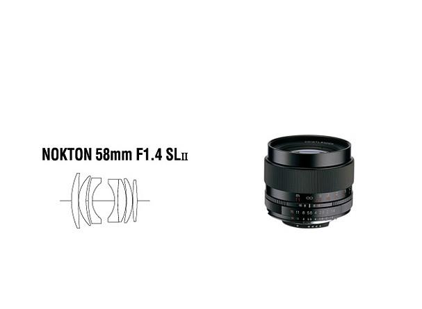Купить -  Voigtlander Nokton 58 mm F1,4 SL II Pentax - объектив с байонетом Pentax