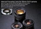 Фото  Voigtlander Nokton 58 mm F1,4 SL II Pentax - объектив с байонетом Pentax