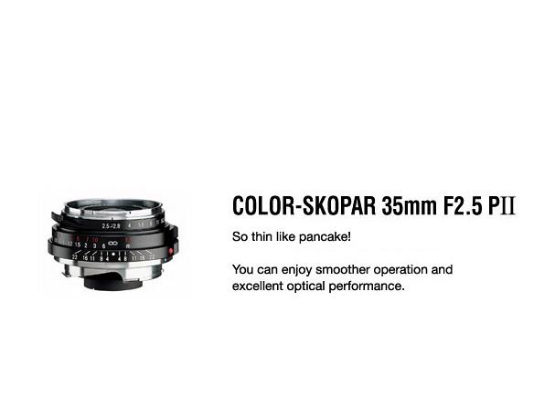 Купить -  Voigtlander Color-Skopar 35 mm F2,5 Pancake II VM - объектив с байонетом M