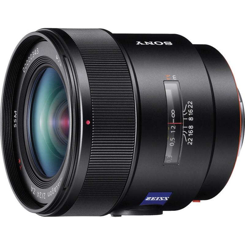 Купить - Sony Sony 24mm F2.0 SSM Carl Zeiss (SAL24F20Z.AE) + В подарок RODENSTOCK Digital PRO MC UV-Filter M72 стоимостью 1725 грн!