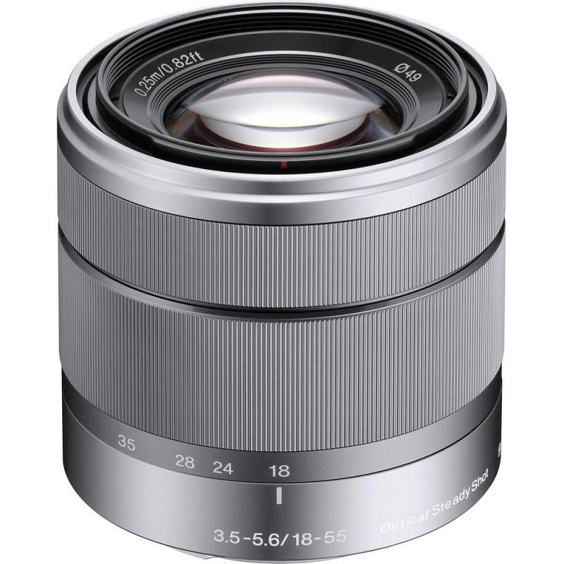 Купить - Sony Sony 18-55mm f/3.5-5.6 для камер NEX (SEL1855.AE)