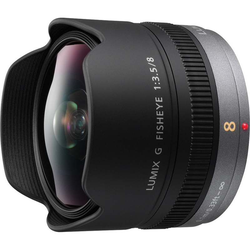 Купить - Panasonic Panasonic LUMIX G  8mm F3.5 Fish Eye (H-F008)