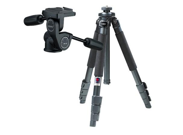 Купить - Benro Алюминиевый штатив (KIT) A-550EX+HD-28 (A550FHD2)