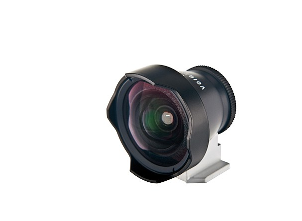 Купить -  Voigtlander Viewfinder 12 mm Metall black - внешний видоискатель.