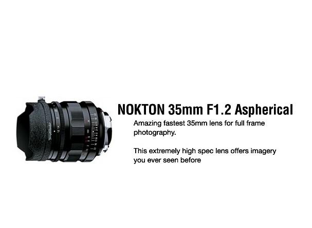 Купить -  Voigtlander Nokton 35 mm F1,2 VM - объектив с байонетом M