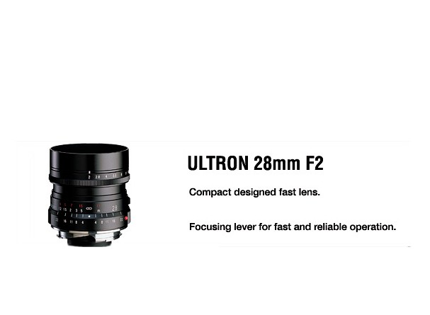 Купить -  Voigtlander Ultron 28 mm F2,0 VM - объектив с байонетом M