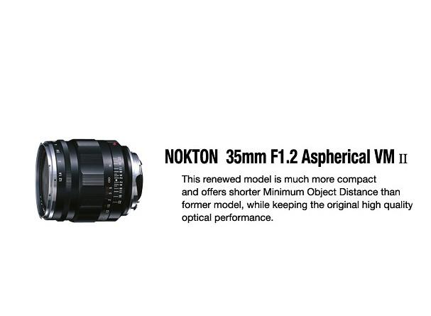 Купить -  Voigtlander Nokton 35 mm F1,2 asph II VM NEW - объектив с байонетом M