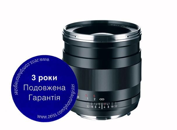 Купить -  Carl Zeiss Distagon T* 2/25 ZE - объектив с байонетом Canon + светофильтр Carl Zeiss T* UV Filter 67 mm в подарок!!!