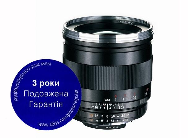 Купить -  Carl Zeiss Distagon T* 2/25 ZF.2 - объектив с байонетом Nikon, официальная гарантия 3 года !!!