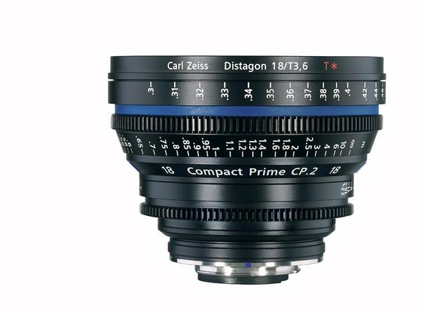 Купить -  Carl Zeiss Compact Prime CP.2 18/T3.6 T* EF mount - объектив для видео с байонетом Canon EF