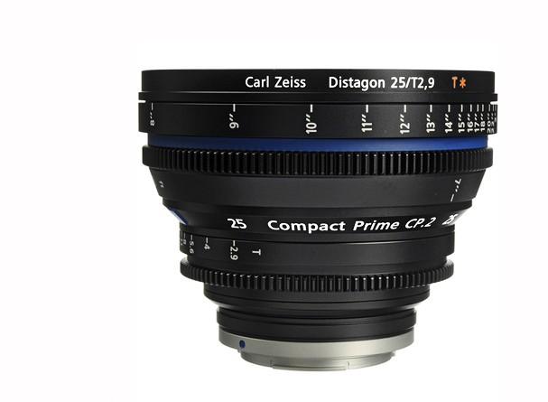 Купить -  Carl Zeiss Compact Prime CP.2 25/T2.9 T* EF mount - объектив для видео с байонетом Canon EF