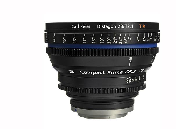 Купить -  Carl Zeiss Compact Prime CP.2 28/T2.1 T* EF mount - объектив для видео с байонетом Canon EF