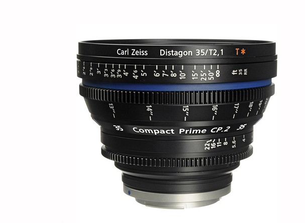 Купить -  Carl Zeiss Compact Prime CP.2 35/T2.1 T* EF mount - объектив для видео с байонетом Canon EF