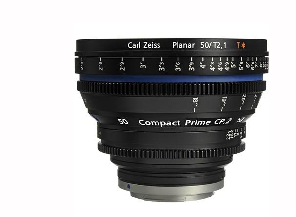 Купить -  Carl Zeiss Compact Prime CP.2 50/T2.1 T* EF mount - объектив для видео с байонетом Canon EF
