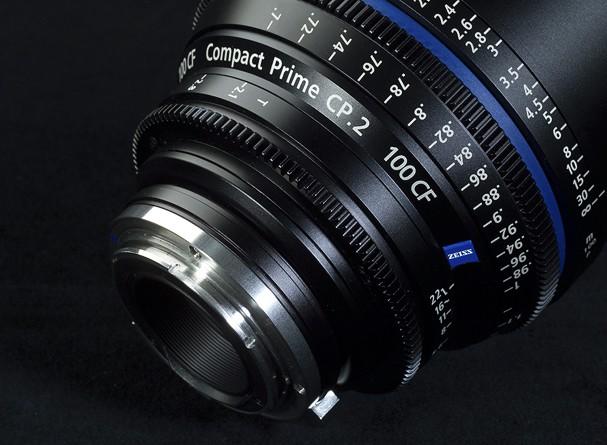 Купить -  Carl Zeiss Compact Prime CP.2 100/T2.1 CF T* EF mount - объектив для видео с байонетом Canon EF