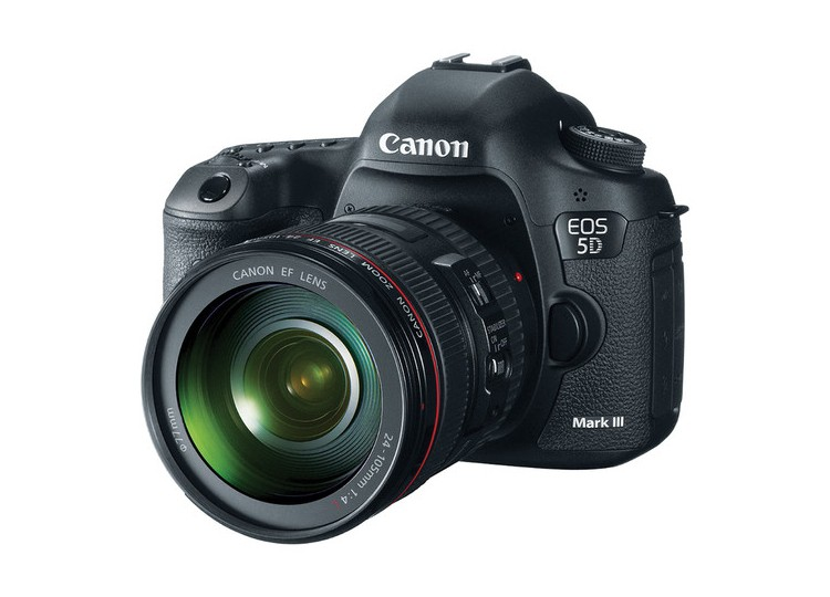 Купить -  Canon EOS 5D Mark III + объектив 24-105mm f/4L IS USM (Kit) Официальная гарантия!!