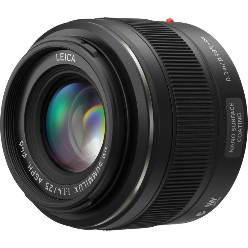 Купить - Panasonic Panasonic Lumix G 25mm f/1.4 Leica Summilux (H-X025E)