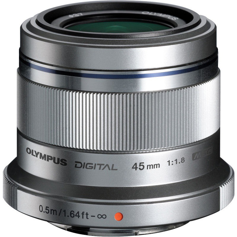 Купить - Olympus Olympus M.ZUIKO DIGITAL 45mm 1:1.8 Silver (Официальная гарантия)