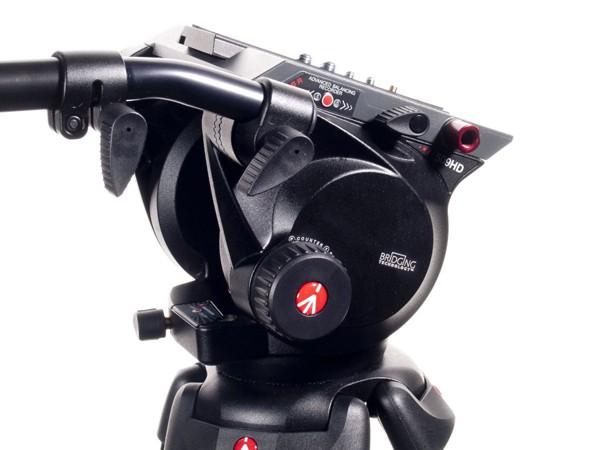 Купить -  Профессиональная видеоголовка 100 мм Manfrotto 509HD