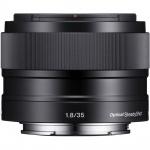 Фото Sony Sony 35mm f/1.8 для камер NEX (SEL35F18.AE)