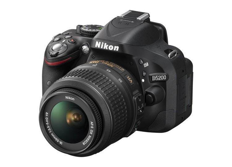 Купить - Nikon Nikon D5200 + объектив 18-55mm f/3.5-5.6G VR (Kit) Официальная гарантия!