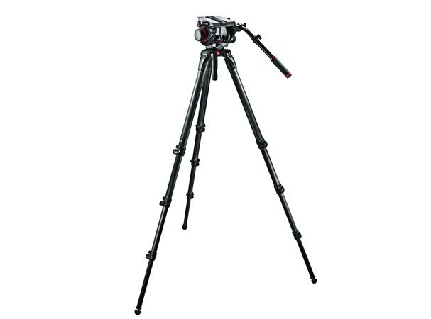 Купить -  Профессиональный комплект 100 мм со штативом Manfrotto 509HD,545BK
