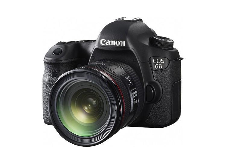 Купить -  Canon EOS 6D (WG) + объектив 24-70mm f/4L IS USM (Kit) Официальная гарантия!