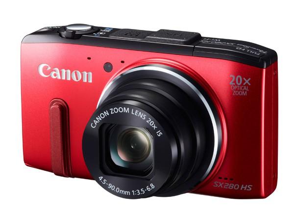 Купить -  Canon PowerShot SX280 HS  Red