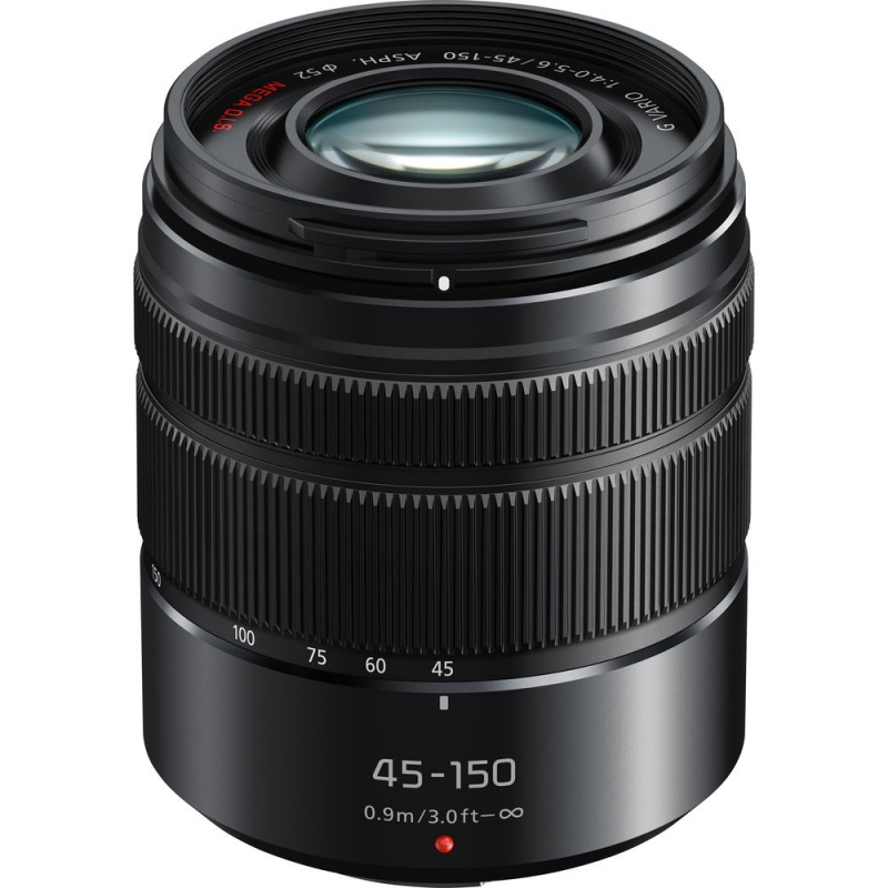 Купить - Panasonic Panasonic Lumix G 45-150mm F4-5.6 ASPH Mega OIS (H-FS45150E-K)