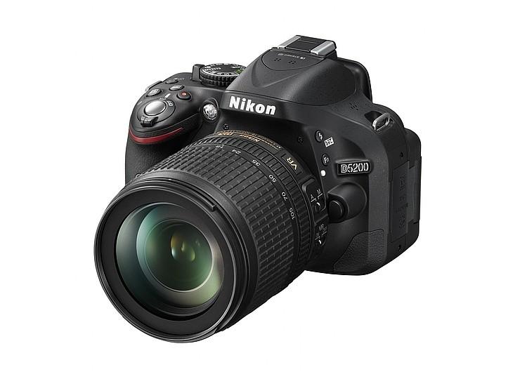 Купить - Nikon Nikon D5200 + объектив 18-105mm f/3.5-5.6G ED VR (Kit) Официальная гарантия!