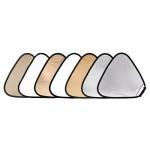 Фото -  LASTOLITE Отражатель треугольный TriGrip 120см Sunlite/Soft Silver (3728) (63892)
