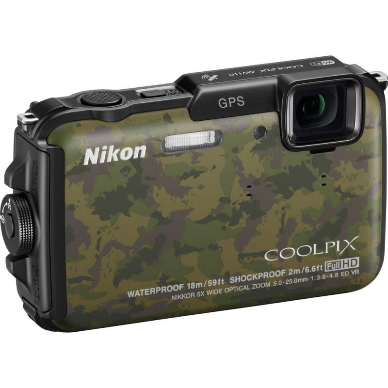 Купить - Nikon Nikon COOLPIX AW110 Camouflage